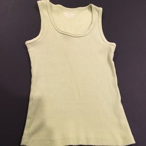 Light green Wet Seal tank.